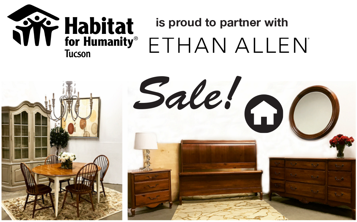 Ethan Allen Pop Up Habitat For Humanity Tucson