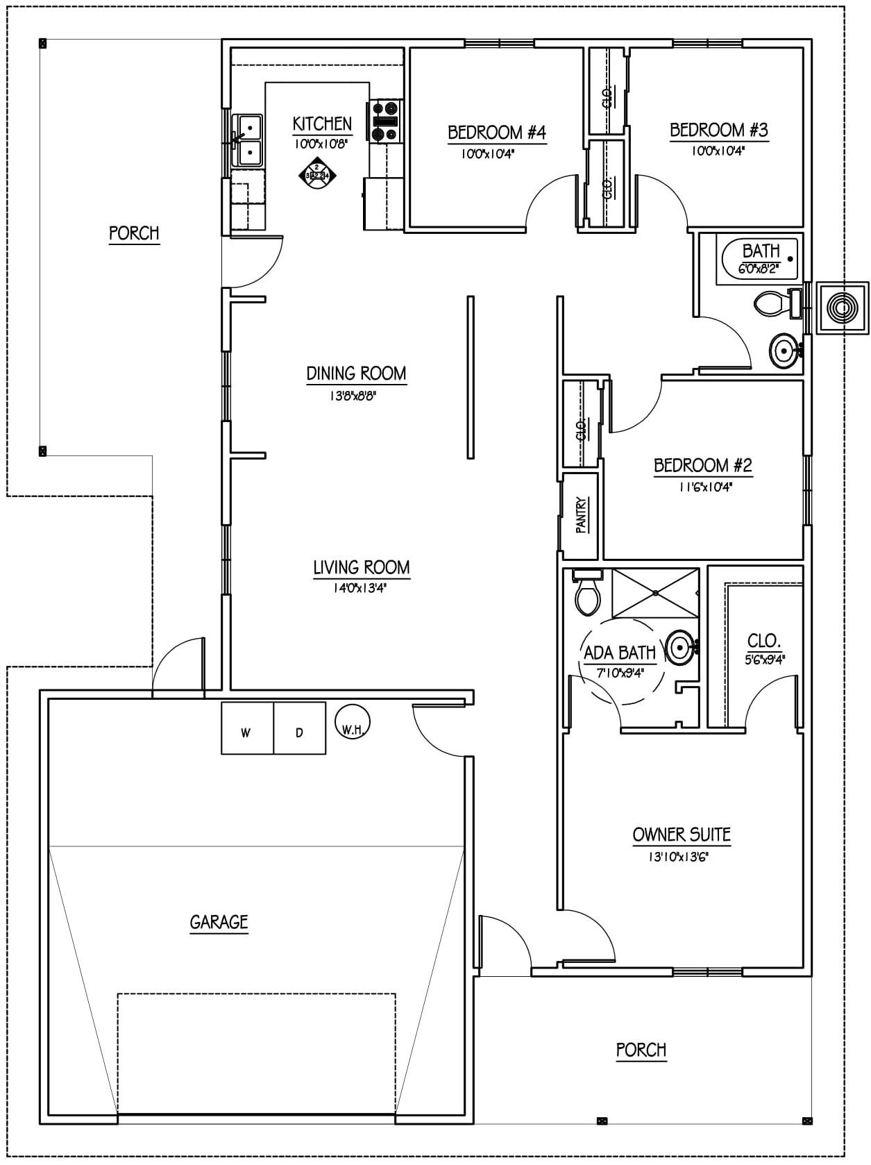Melissa Oliver Floor Plan Habitat For Humanity Tucson
