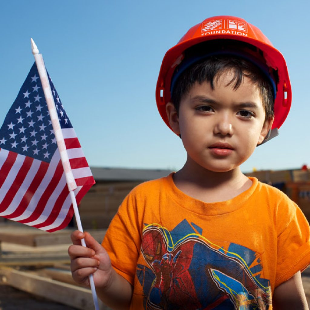 child-with-flag